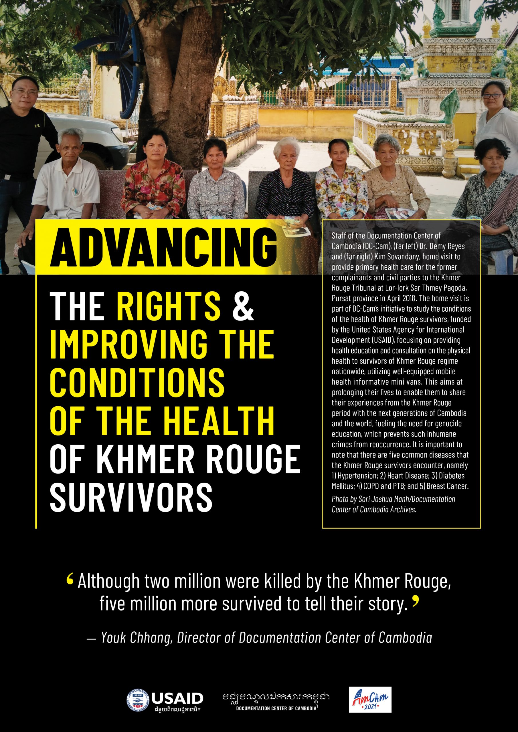 Advancing the Rights and Improving the Conditions of the Health of Khmer Rouge Survivors